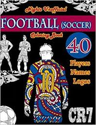 football soccer coloring book unofficial night edition 40
