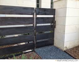 mad for mid century mid century modern fence ideas from austin