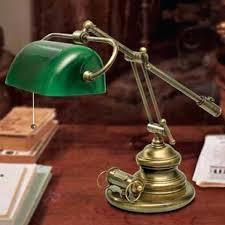 le de bureau banquier laiton verre vert le de bureau banquier racfacrence 6515038 le de bureau