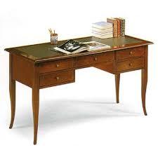 Office Desk Leather Top Executive Wooden Desk Office Desk Classic Desk Leather Top Cm