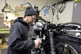 Home Design Contents Restoration North Hollywood Ca Iowa Shop Specializes In Restoring Rare British Motorcycles