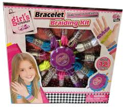 bracelet braid kit images Girl 39 s creator bracelet braiding kit jpg