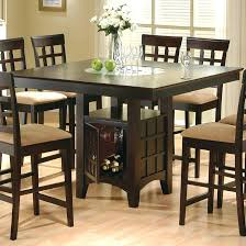 tall kitchen table and chairs high kitchen table and chairs attractive tall breakfast table set