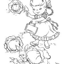 beautiful flower gardening coloring pages bulk color