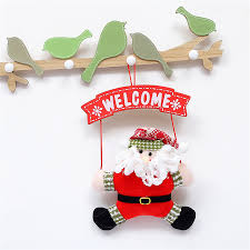 Hanging Decorations For Home by Online Get Cheap Christmas Door Decorations Aliexpress Com
