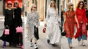 tartan twinning street style twinning happened on day 5 of new york fashion week