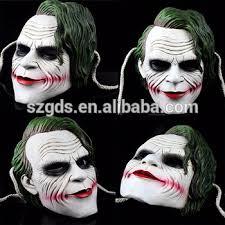 Batman Dark Knight Halloween Costume Batman Dark Knight Mask Clown Cosplay Costume Scary Horror Party