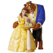 disney and the beast hallmark keepsake hanging decoration