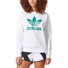 addidas sweater adidas originals eqt sweater s casual clothing white