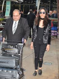 gucci black friday jessica gomes arrives home in sydney wearing gucci kangaroo fur