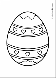 spectacular cute easter eggs coloring pages with egg coloring page