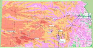 Ks Map Moving Forward Wind Farm Republic County Kansas Economic