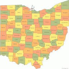 Ohio Us Map by Ohio Us Courthouses