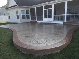 Cement Patio Sealer Why You Should Seal Stamped Concrete Blackwater