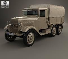 gaz 67 gaz 67 1943 3d model hum3d