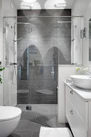 design double sided walk in shower enclosure in frameless luxury