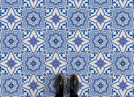 traditional portuguese tile designs are recreated on to our