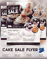 Free Printable Halloween Poster Templates Bake Sale Flyer Template 24 Free Psd Indesign Ai Format
