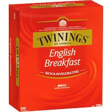 twinings breakfast tea bags 100pk 200g woolworths