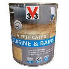 v33 cuisine et bain v33 vitrificateur cuisine bains incolore satin pas cher en ligne