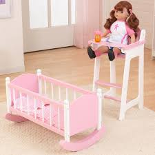 Wooden Doll High Chair Wooden Doll Cradle And Highchair Modern Chairs Design
