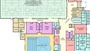 childcare floor plan city offers support to planned fieldhouse rosemount town pages