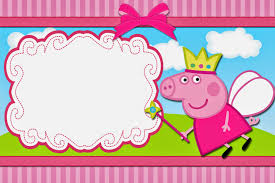 party invitation templates peppa pig party invitations to inspire you thewhipper com