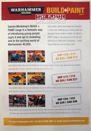 updated games workshop 40k build paint releases for late 2016