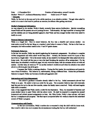 behaviour report template how to write a behavior management plan 3 steps with pictures