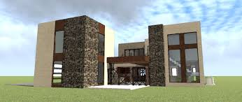 plan 44108td contemporary home plan with inner courtyard front