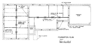floor plan clipart 019398pv modern foundation plan ofouse state machine online