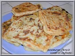 cuisine du maghreb msemens farcies crèpes du maghreb cerises et clafoutis