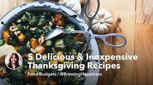 5 delicious and cheap thanksgiving recipes mintlife