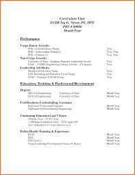 Resume Vitae Sample by 6 Professional Curriculum Vitae Format Sample Budget Template