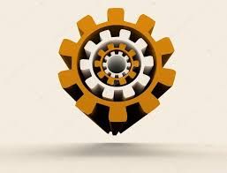 Industrial Theme by Abstract Industrial Theme Background With Gears U2014 Stock Photo