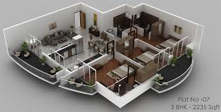 solitaire luxury apartments in hathill mangalore landtrades
