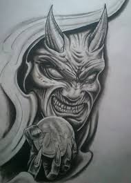 demon face tattoo designs pictures to pin on pinterest tattooskid