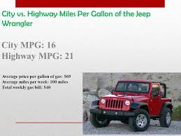 average gas mileage for a jeep wrangler a comparison of two cars i would like to own a camaro and a jeep