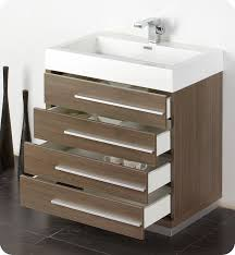 Modern Bathroom Vanities And Cabinets Fresca Livello 30