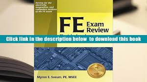download fe exam review electrical and computer engineering