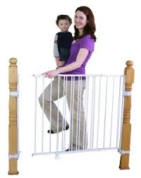 Safety Gate For Top Of Stairs With Banister Baby Gates For Top Of Stairs With Banisters