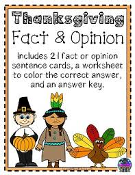 thanksgiving fact and opinion thanksgiving facts thanksgiving and
