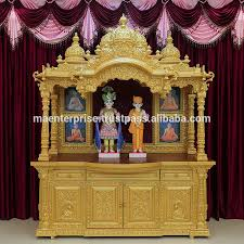 wooden home temple for the best tips for home temple designs