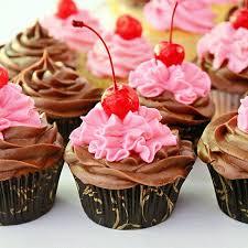 chocolate chip cherry cupcakes u2013 sugarywinzy