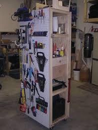 Cool Garage Storage Garage Storage Cart Woodworking Plan Love This Organized