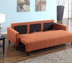 Rust Sofa Product Reviews Buy Large Rust Orange Cloth Modern Contemporary