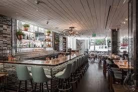 Interior Design Restaurant Look Inside Cultivar Opening At The Ames Hotel On Friday Eater