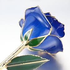 flower pro mr pro authentic stem dipped in 24k gold blue mr pro