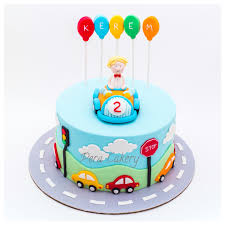 2 year birthday car cake for a 2 year boy pera cakery cakes car