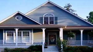 ranch style house exterior color schemes youtube